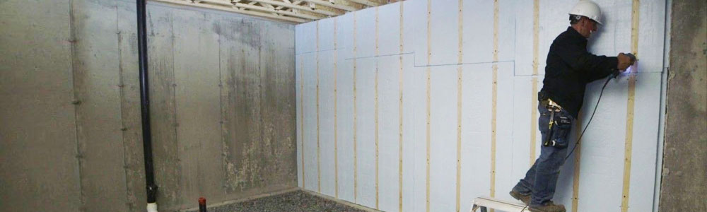 Basement Wall Insulation in Lexington & Charleston