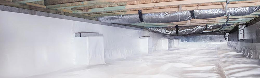 Crawl Space Insulation Near Charleston, Lexington, Georgetown