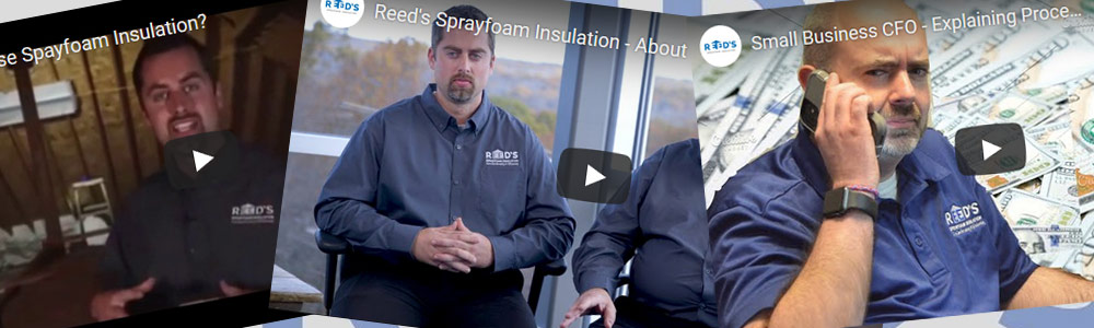 Reed's Sprayfoam videos