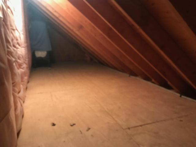Attic Roof Deck Insulated in Hurricane, WV