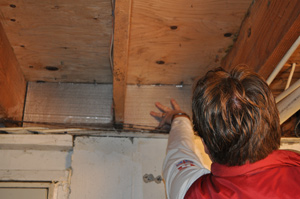 Basement Floor Joist Insulation