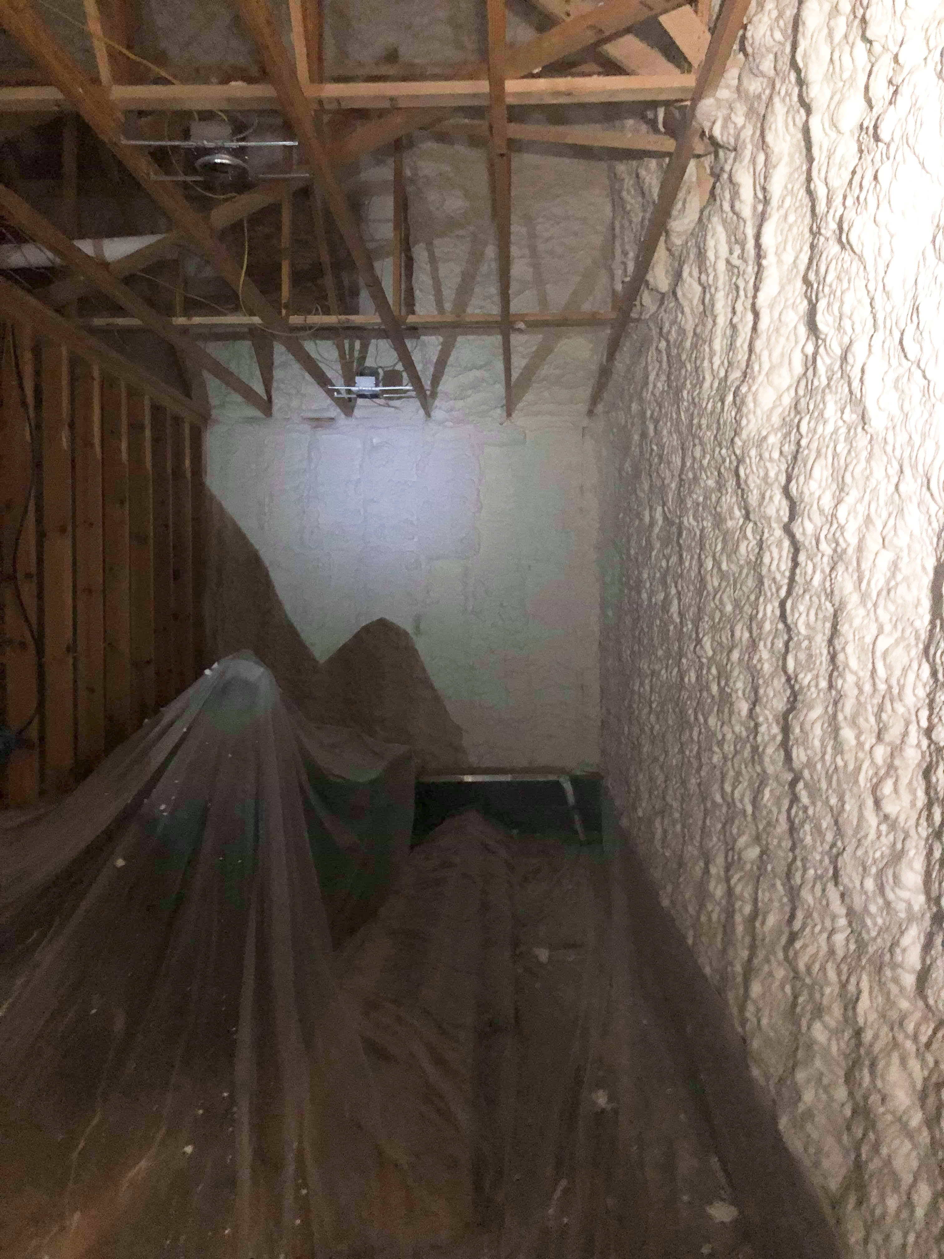 Space After Insulation