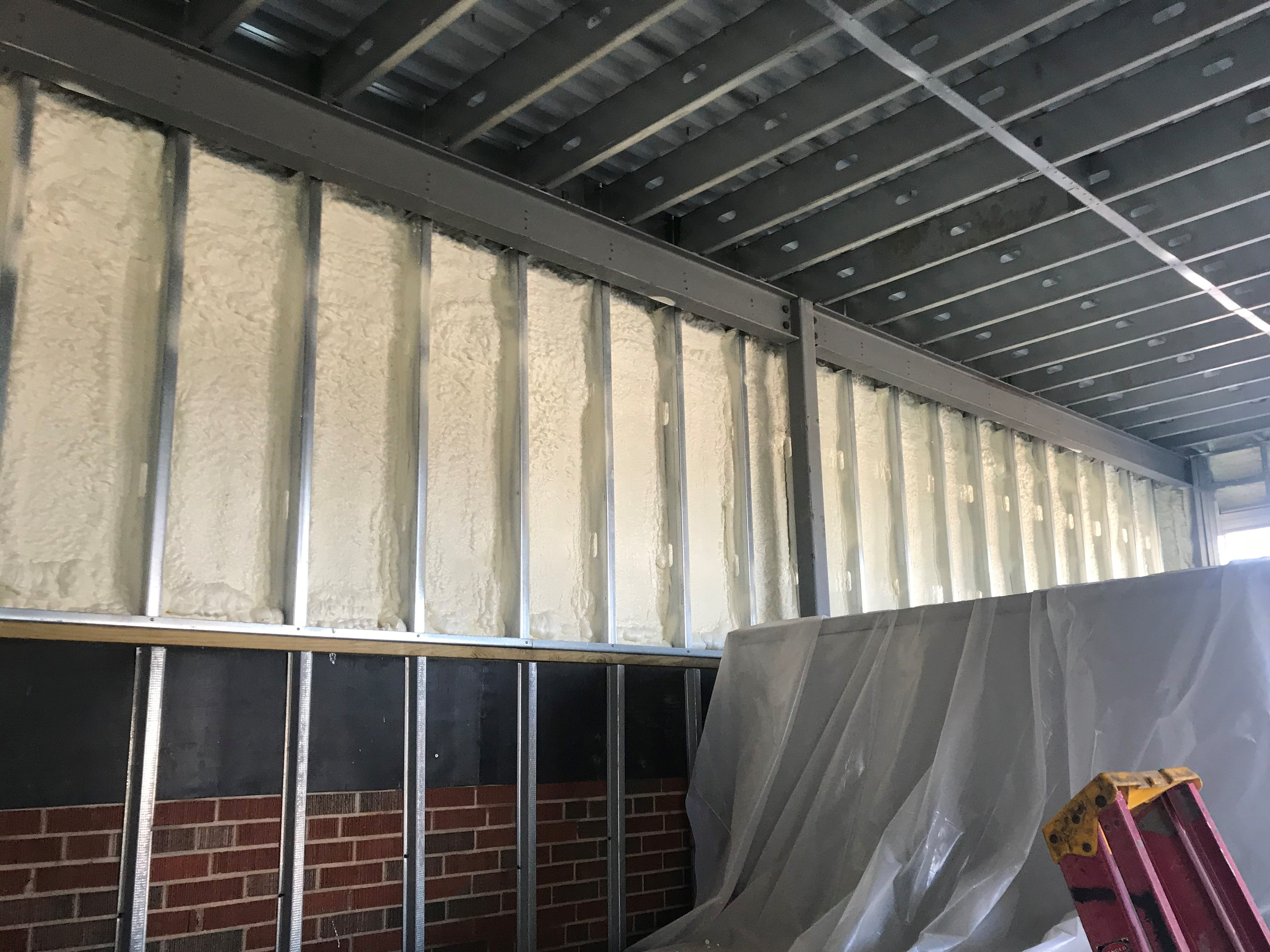 Reed's Sprayfoam Insulation Photo - Icynene Spray Foam